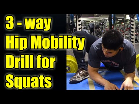 Hip Mobility For Easier Squatting Below Parallel