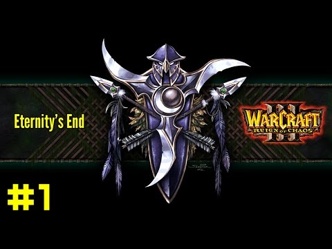 Warcraft III Reign of Chaos: Night Elf Campaign #1 - Enemies at the Gate