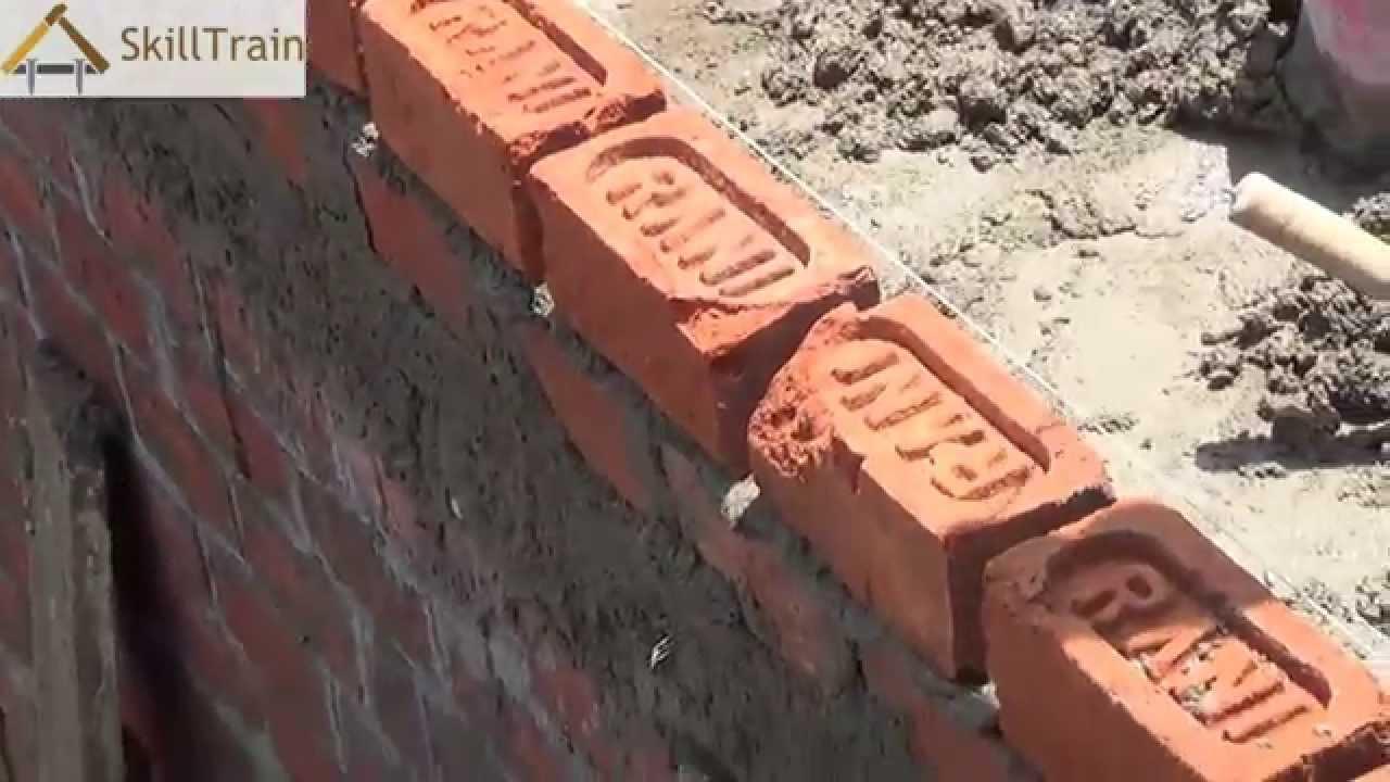 Constructing a halfbrick 4inches Wall Hindi