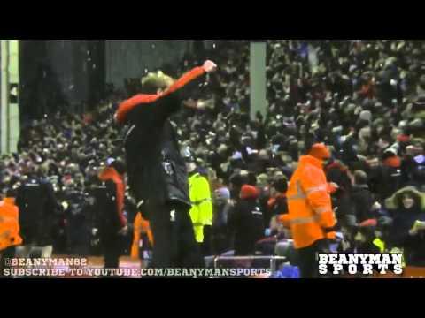 Jürgen Klopp epic celebration. Nearly as good as the match.[FootballMinute]