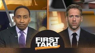 stephen a no one is expecting lebron james to beat warriors in nba finals first take espn