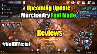 Black Desert Mobile Upcoming Update Merchantry Fast Run Mode Reviews
