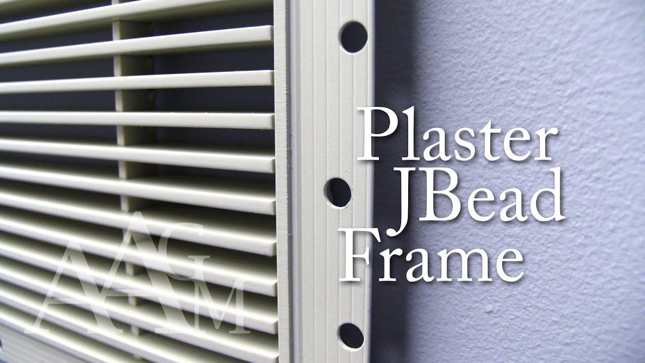 Plaster JBead Linear Bar Grille - YouTube