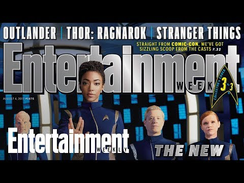 'Star Trek: Discovery': Go Behind The Scenes With The Cast | Cover Shoot | Entertainment Weekly