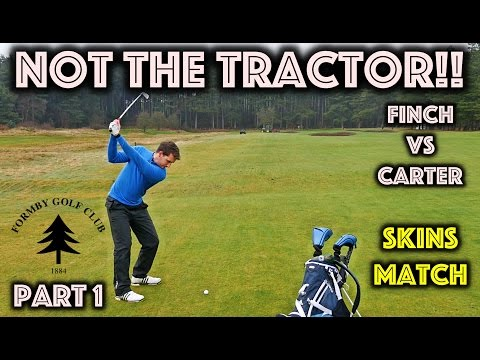 Not The Tractor!! Formby Golf Club vs Andy Carter - Part 1