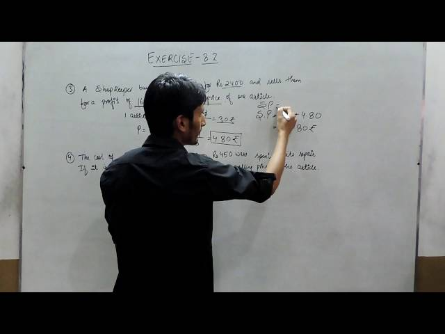 Exercise 8.2 - Question 3 and 4 NCERT/CBSE Solutions for Class 8th Maths Comparing Quantities