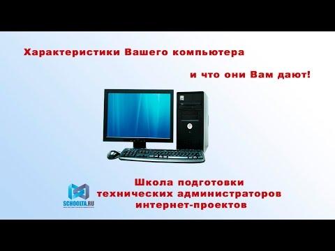 Характеристики Вашего компьютера и что они Вам дают!