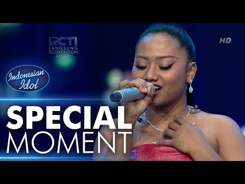 Maria membawakan lagu Listen untuk Mavers! - Grand Final - Indonesian Idol 2018