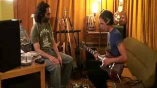 Recording guitar for Mission Istanbul