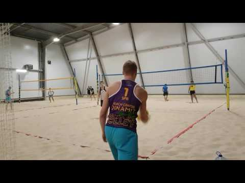 Пляжный волейбол [1 партия, начало второй]