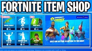 Fortnite ITEM SHOP (VOTE FOR A SKIN!) Fortnite Battle Royale