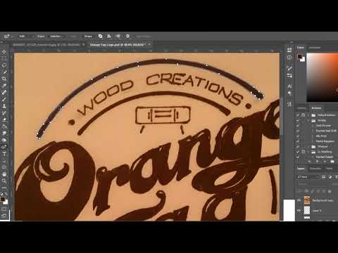 Easiest Way To Digitize A Logo On Photoshop