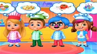 Little Chefs | Play Fun Cooking & Making Foods | Kitchen Fun Game for Kids