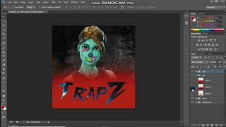 Logo Fortnite gratuit / Profile Pic Template (fr) Photoshop CS6