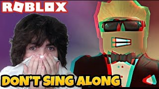 Try Not to Sing Along Challenge | Roblox Music Videos