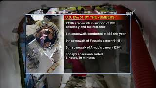 Spacewalkers Complete HD Camera Installation Work
