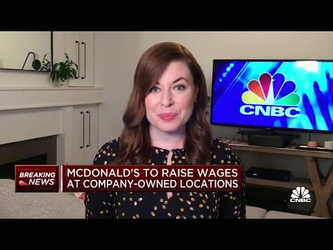McDonald's to raise wages at company-owned locations