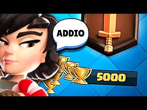 ADDIO TROFEI... ADDIO RECORD! - Clash Royale
