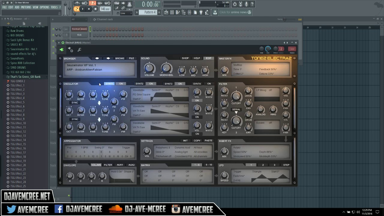how to install and use Gross Beat presets in FL Studio