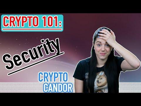 Crypto 101: Security