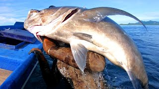 INDO TALES - EPISODE 6 (un)lucky GT.. traditional net fishing for soldierfish and grilling..
