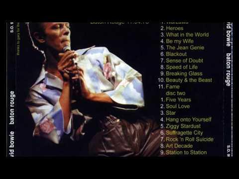David Bowie Louisiana State University Baton Rouge april 11th 1978 ( audio )