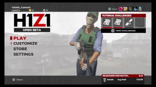H1Z1 Battle Royal TRYING TO GET A WIN  GAME PLAY PS4]