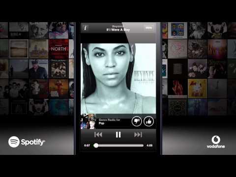 Spotify Premium with Vodafone