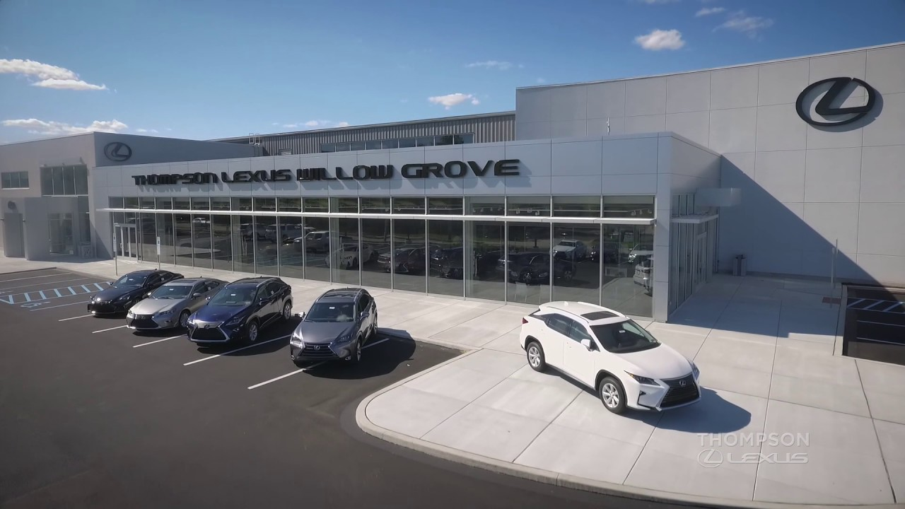 Thompson Lexus Willow Grove >> The New Thompson Lexus Willow Grove Experience Amazing