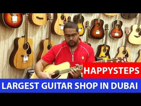 LARGEST ROCK GUITAR SHOP IN DUBAI