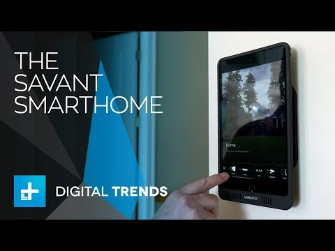 Savant's smarthome system is so genius, it's idiot-proof