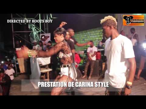 PRESTATION DE CARINA STYLE  AU CONCERT LIVE DE DJ LEO AU NPA