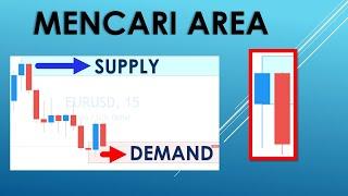 Belajar Strategy Forex Indonesia - 5. Menentukan Zona Supply dan Demand pada Candlestick