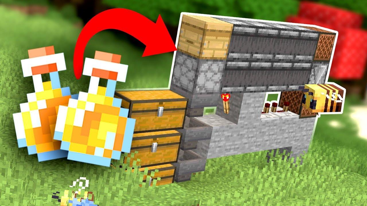 How To Build An Automatic Tileable Honey Farm Youtube