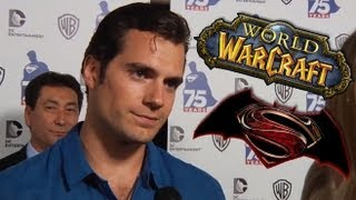 HENRY CAVILL on Man of Steel 2 & World of Warcraft (Comic-Con 2013)