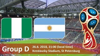 COMENTAM NIGERIA vs ARGENTINA IMPREUNA - CUPA MONDIALA 2018