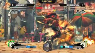 Capcom Pro Tour Taiwan Grand Finals: AVM Gamerbee VS MCZ Daigo Umehara