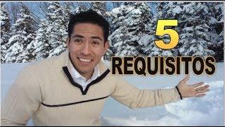 Requisitos para trabajar en Canadá, primer paso, cual es?