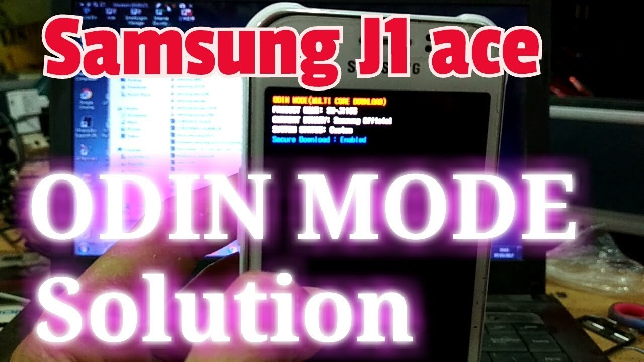 Samsung J1 Ace Odin Mode Solution Sm J110g Ds Youtube