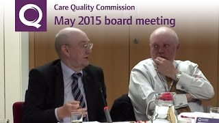 CQC Board Meeting 21 May 2015
