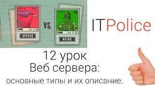 12й урок: Веб сервера: основные типы и их описание. Как узнать конфигурацию своего сервера.