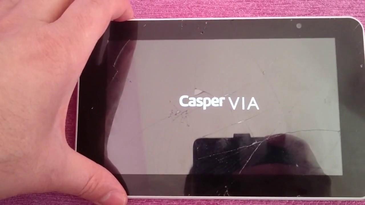 Casper Via Tabletim dondu ve kilitlendi açılmıyor nasıl format atabilirim