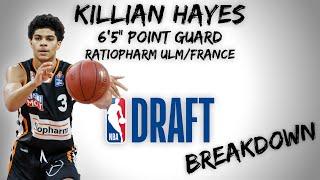 Killian Hayes Draft Scouting Video | 2020 NBA Draft Breakdowns