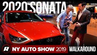 2020 Hyundai Sonata walkaround | New York Auto Show 2019