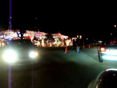 Garden Grove Christmas Lights in Orlando
