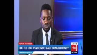 Battle for Kyadondo East Constituency (Apollo Kantinti, Robert