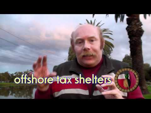 two minute challenge - offshore tax shelters.