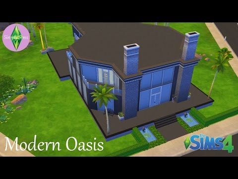 The Sims 4 House Building - Modern Oasis