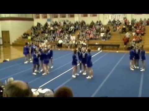 Courtland High School Conference 22 Cheer Championship