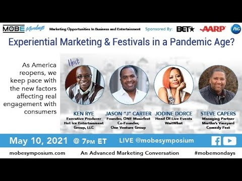 Experiential Marketing & Festivals in a Pandemic Age